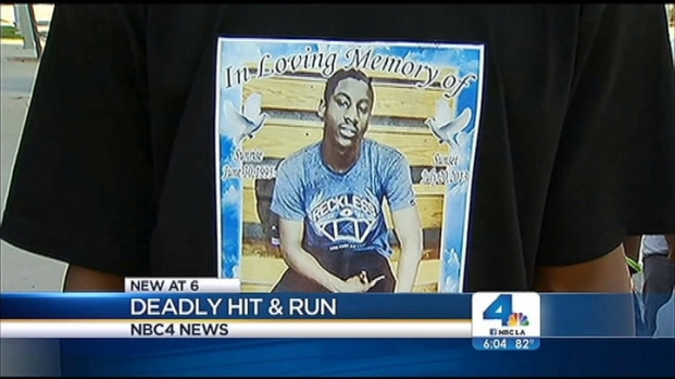 [LA] Memorial for a Teen Killed in a Hit-and-Run in South LA