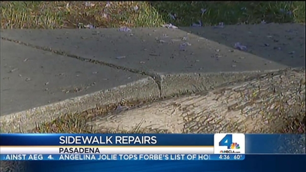 [LA] Step on a Crack, Pasadena Might Have Your Back