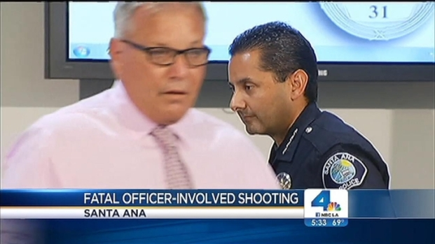 [LA] Santa Ana Police Give New Details on Fatal Officer Involved Shooting