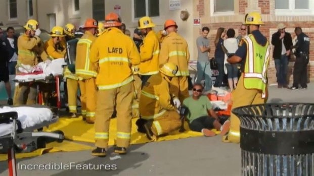 RAW VIDEO: Venice Hit-and-Run Aftermath