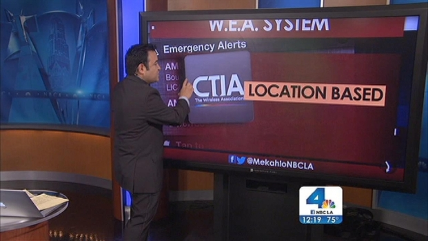 [LA] Phones Across SoCal Buzz With Amber Alerts