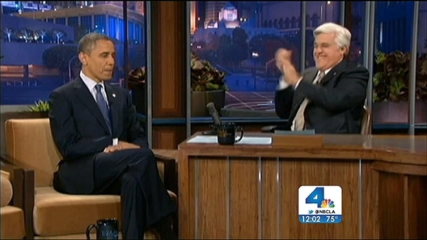 "[LA] ""Tonight Show"" Guests Surprised Obama Making an Appearance"