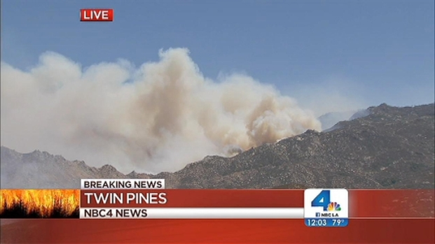 [LA] Winds, Heat a Concern as Wildfire Grows