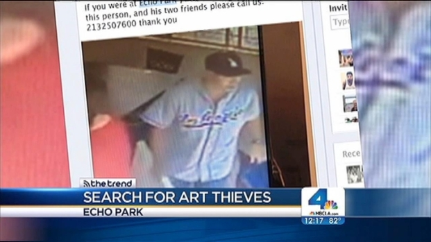[LA] Thief With Taste of Dodgers' History Rips off Restaurant