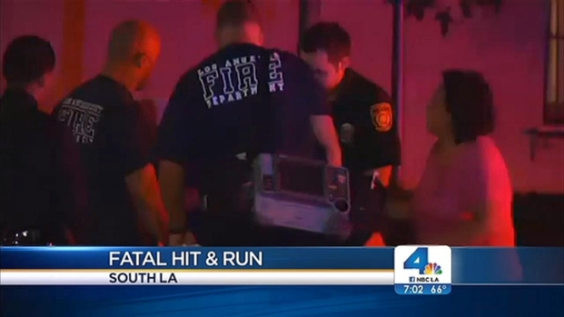 [LA] Police Search for Hit-and-Run Driver Who Killed Teen Leaving Church