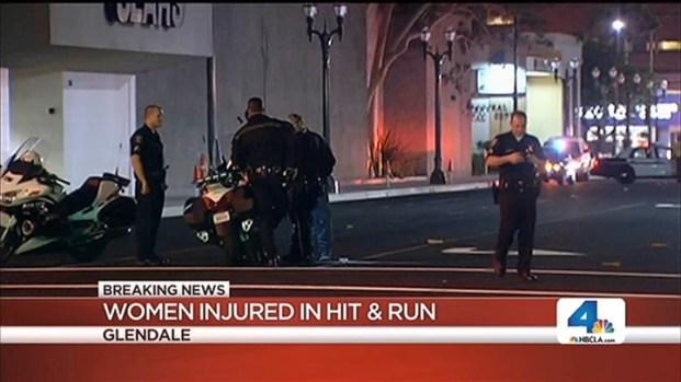 [LA] Hit-and-Run Driver Strikes 2 Women in Glendale