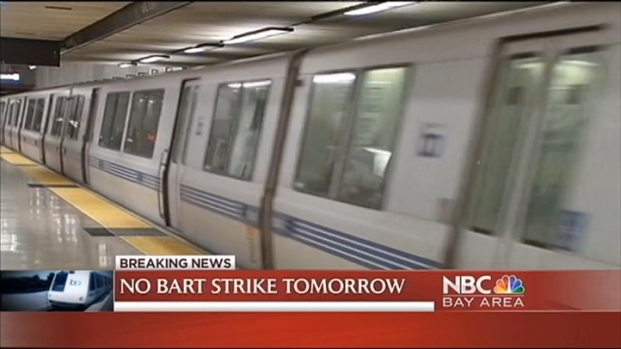 [BAY] No BART Strike Wednesday; Negotiations to Continue