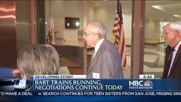 [BAY] BART Trains Still Running As Negotiations Continue
