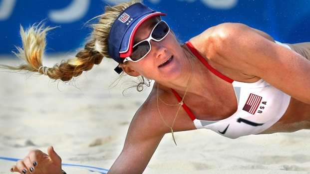 [NATL] Kerri Walsh Heads to London as a Mom