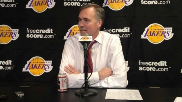 [LA] Lakers Coach Mike D'Antoni After Win Over Blazers