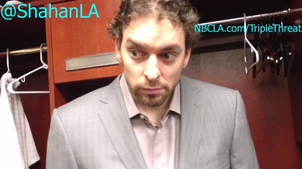 [LA] Pau Gasol On Kobe Bryant Partnership Following Win vs Grizzlies