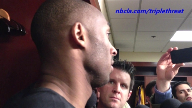 [LA] Lakers' Kobe Bryant Not Concerned