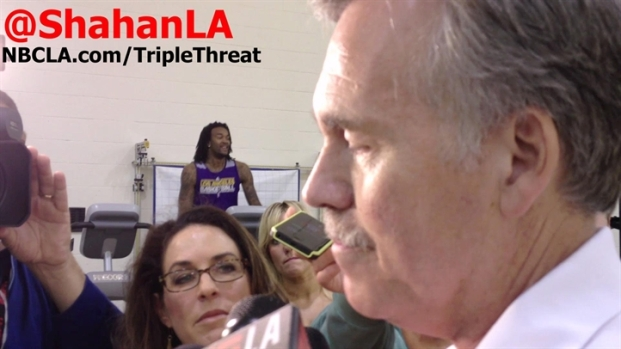 [LA] Lakers Mavericks - Mike D'Antoni on Dirk Nowitzki