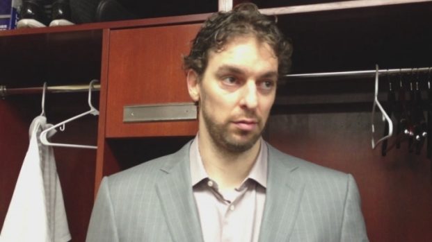 [LA] Pau Gasol Zen-Like After Lakers Beat Grizzlies