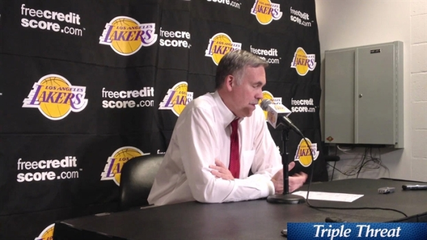 [LA] Lakers Coach D'Antoni Post Loss to 76ers