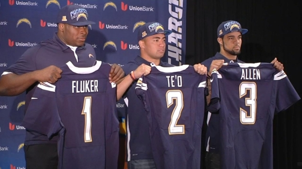 [DGO] New Chargers: Fluker, Te'o and Allen