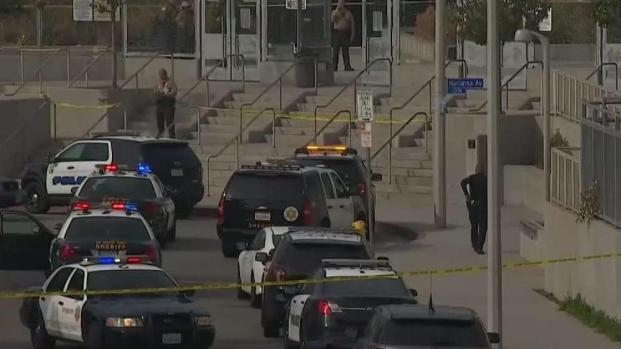 [LA] Man With Sword Shot and Killed by Police at School