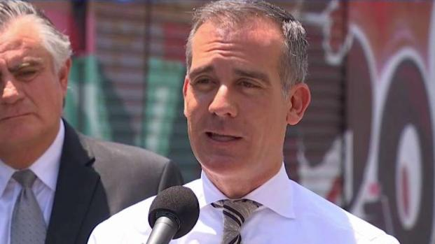 Mayor Eric Garcetti Responds to City's Illegal Dumping