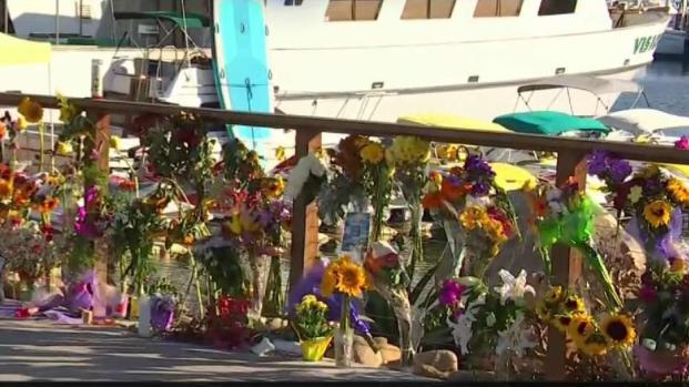 [LA] Memorial for 34 Killed Grows at Santa Barbara Harbor