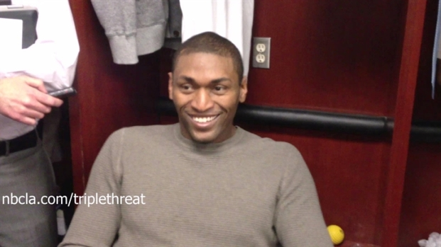 [LA] Metta World Peace On Lakers Media Part 2
