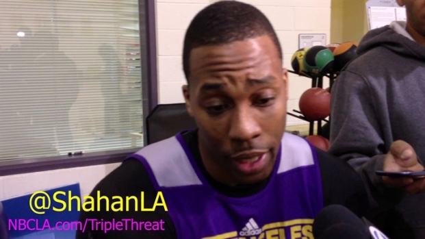 [LA] Metta World Peace Returns To Lakers - Dwight Howard