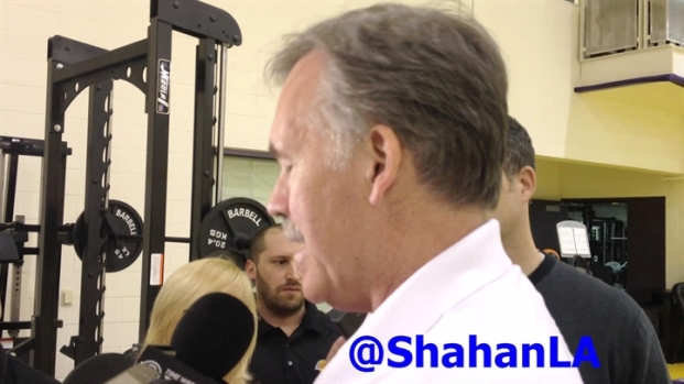 [LA] Mike D'Antoni at Lakers Practice - 3/24/2013