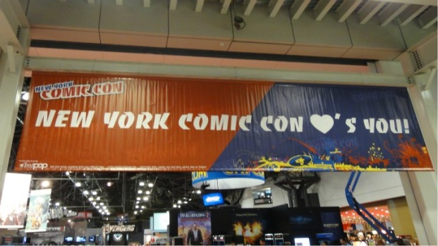 New York Comic Con 2011: Crazy Costumes, Major Marketing