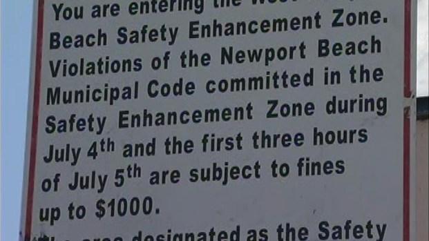 [LA] Newport Beach Police Crack Down on Loud Parties