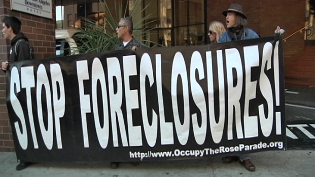 [LA] Occupy LA Protest Foreclosures
