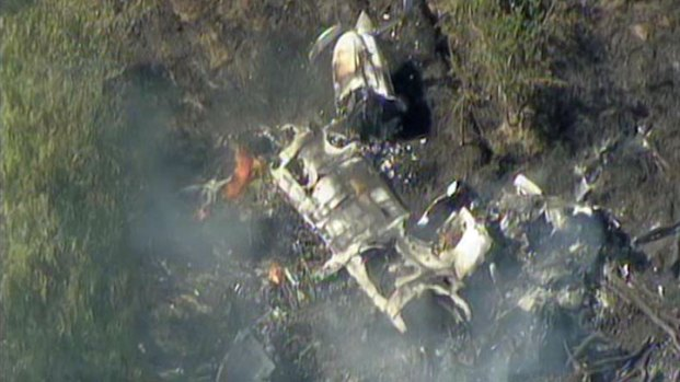 Plane Crashes Near Spinks Airport