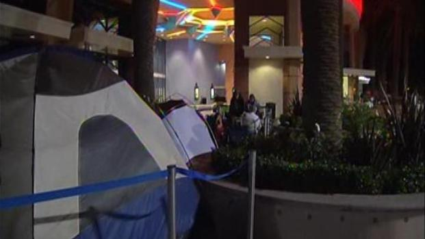 [LA] Fans Camp Out to be First to See Last Potter Film