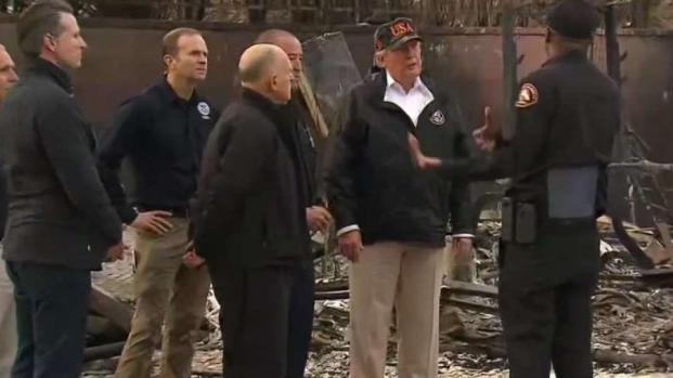 [LA] President Trump Surveys Destruction of Woolsey Fire