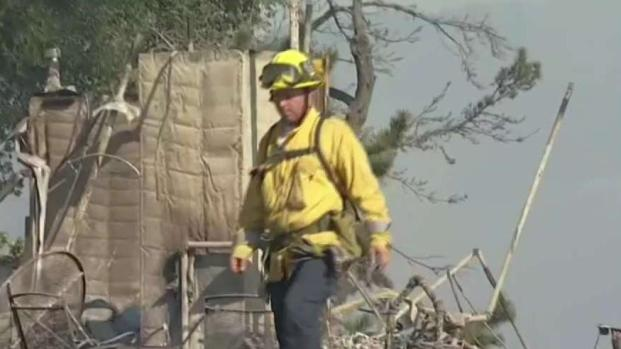 [LA] Residents Survey Destruction From Getty Fire
