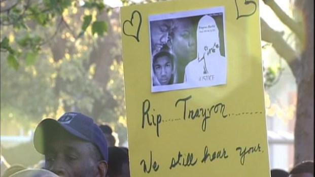 [LA] Leimert Park Rally Held for Slain Florida Teen Trayvon Martin
