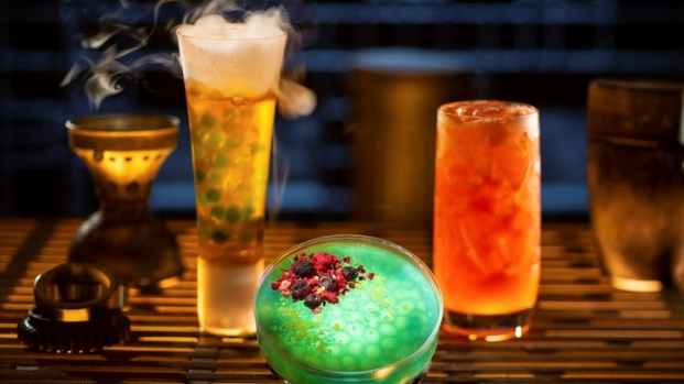 The Interstellar Sips + Eats of Disneyland's Galaxy's Edge