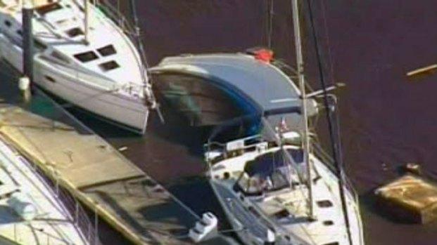 Santa Cruz Marina Damage