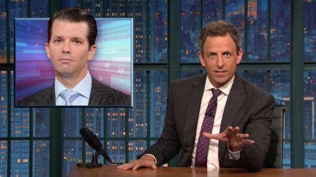 [NATL] 'Late Night': A Closer Look at Trump Jr.'s Russian Meeting