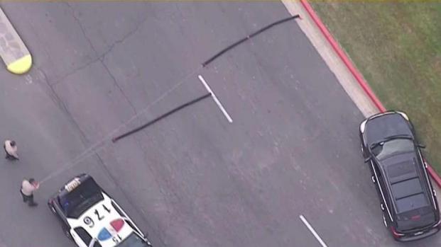 [LA] Police Pursuit of Suspected Stolen Vehicle Goes Through Cemetery