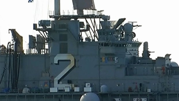 [DGO] Teen Sailor Found Shot on USS Essex