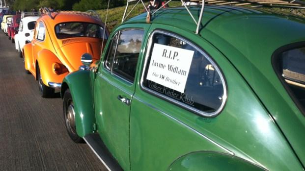 [DGO] VW Memorial Ride Held for DUI Crash Victim