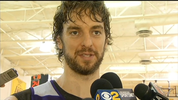"[LA] Pau Gasol: ""I'm Trying to Figure it Out"""