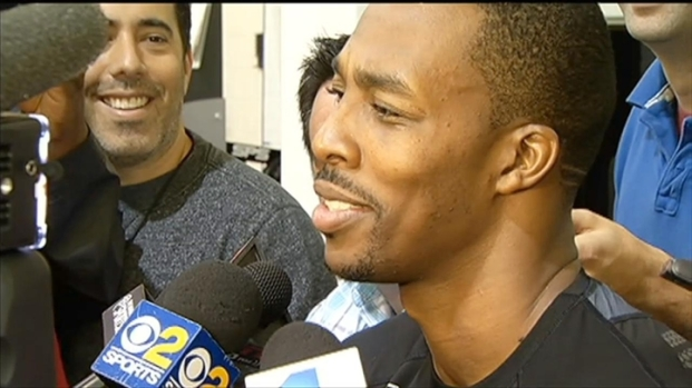 """[LA] Dwight Howard: """"I Don't Want to Talk About Free Throws"""""""