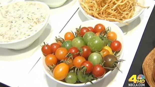 [LA] Weekend Dining: Heirloom Tomato Salad