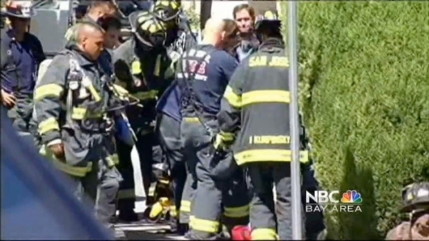 [BAY] SJ Firefighter in Stable Condition