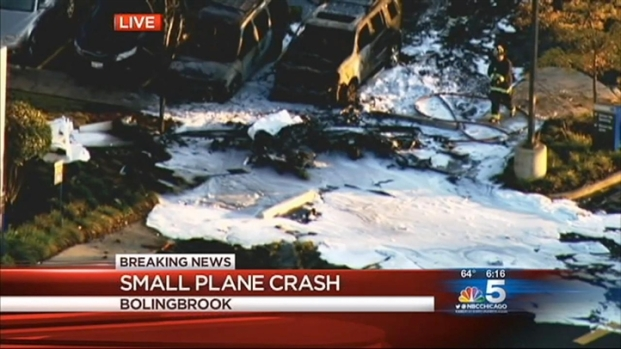[CHI] Plane Crash Witness: Pilot Was On Fire