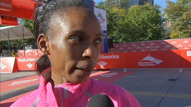 [CHI] Rita Jeptoo Wins 2013 Chicago Marathon