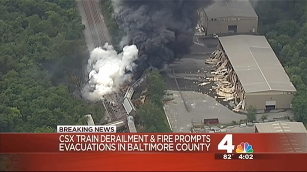 [DC] Freight Train Derails in Baltimore County