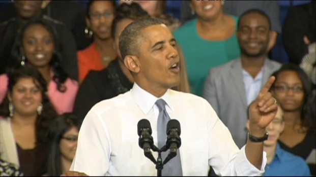 [DC] President Obama Touts His Affordable Health Care Act at Prince George's Community College