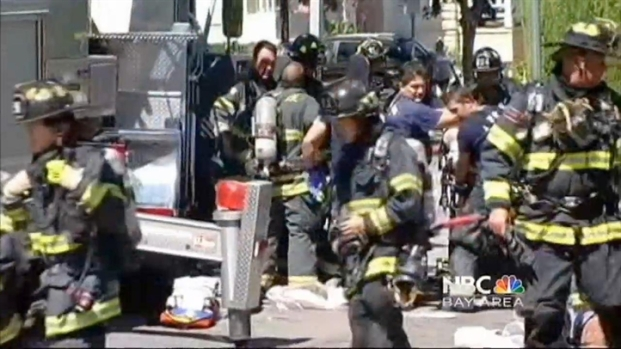 [BAY] San Jose's St. Patrick's Cathedral Catches Fire