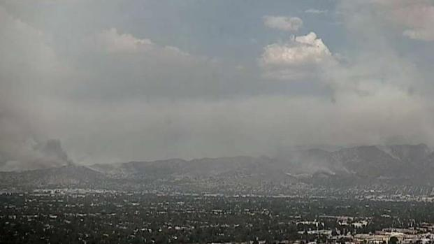 Watch: La Tuna Fire Time Lapse
